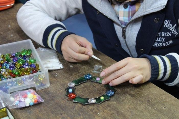 ガラス工房「グラスバレー」さんの体験教室は毎日開かれていて、とんぼ玉、... ガラス工芸体験教室